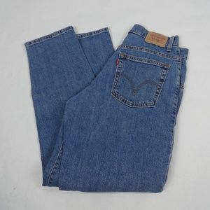 Levis Jeans 550 Relaxed Tapered Size 8 Short